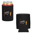 CAN/BOTTLE HOLDER - Neoprene can/bottle holder with insulated backing.