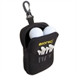 NEOPRENE GOLF ACCESSORIES POUCH - Neoprene golf accessories pouch with front mesh pocket.