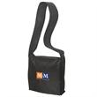 NON WOVEN MESSENGER BAG - Non-woven 90 gram polypropylene messenger bag.