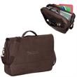 PREMIUM BONDED LEATHER LAPTOP BRIEF - Premium Bonded Leather Laptop Brief.