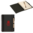 RECYCLED CARDBOARD NOTEBOOK - Recycled cardboard notebook with 70 sheets of lined recycled paper.