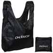 FOLDING TOTE - Lightweight Polyester folding tote.
