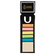 RECTANGLE BOOK MARK WITH 150 STICKY NOTES - Rectangle book mark with 150 sticky notes.