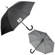 "EXECUTIVE PINSTRIPE UMBRELLA - Executive Pinstripe Umbrella, 23"" rib length, 46"" arc."