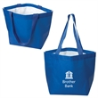 MAUI LARGE GUSSET LAMINATED TOTE - Large Gusset Laminated Tote. Non-woven 140 gram double laminated Polypropylene with matte finish.