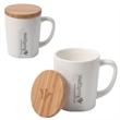 Bamboo Chic Mug With Bamboo Lid - Bamboo Chic Mug with Bamboo Lid.
