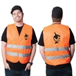 HIGHVIZ LARGE SAFETY VEST - High Viz Large Safety Vest.