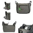 Albany Messenger Bag - Heathered 300 denier PVC albany messenger bag