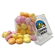 Cube Shaped Acrylic Container With Candy - Cube shape container made of acrylic and filled with your choice of candy.