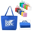 Non-Woven Beach Tote Bag - These larger than average tote bags are perfect for a day at the beach, picnic, or general purpose use.