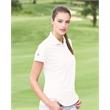 Adidas Women's Basic Sport Shirt - Women's basic polo with a feminine cut. Blank product.