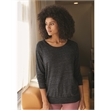 Alternative Women's Eco-Jersey Slouchy Pullover - Women's Eco-Jersey slouchy pullover sweatshirt. Blank product.