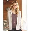 Alternative Women's Adrian Eco-Fleece Full-Zip Hooded Swe... - Ladies' Eco fleece full-zip hooded sweat shirt. Blank.
