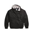 Augusta Sportswear Fleece Lined Hooded Jacket - Hooded fleece-lined jacket. Blank product.