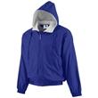 Augusta Sportswear Youth Hooded Taffeta Jacket - Youth Hooded Taffeta Jacket