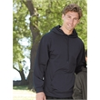 Badger Performance Fleece Hooded Sweatshirt - Moisture management hooded sweatshirt. Blank product.