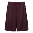 "Badger B-Dry Youth 6"" Shorts - Youth 100% polyester 6"" shorts"