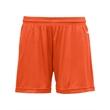 "Badger B-Core Girl's Shorts - Girl's 4"" inseam shorts"