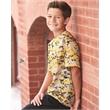 Badger Youth Digital Camo T-Shirt - Badger Youth Digial Camo Short Sleeve T-Shirt, blank.
