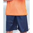 "Badger Youth Pro Mesh 6"" Shorts - Youth, 6"" inseam pro mesh shorts. 6.0 oz. 100% polyester mesh. Blank product."