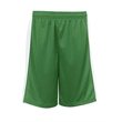 """Badger Youth Pro Mesh Challenger Shorts - Polyester youth shorts with 100% polyester dazzle side panels and a 6"""" inseam."""