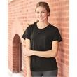 Badger Women's B-Core T-Shirt - Women's short sleeve t-shirt with moisture management /anti-microbial fabric. Blank.