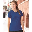 Badger Women's B-Core V-Neck T-Shirt - Women's v-neck short sleeve t-shirt, blank.