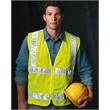 Bayside USA-Made Mesh Safety Vest - USA Made Mesh Safety Vest