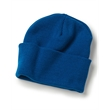 """Bayside USA-Made 12"""" Knit Beanie with Cuff - Acrylic knit, 12"""" beanie with cuff. Blank product."""
