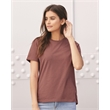 BELLA + CANVAS Women's Relaxed Jersey Tee - Short sleeve t-shirt with true women's fit. Blank product.