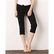 BELLA + CANVAS Women's Capri Scrunch Pants - Women's capri scrunch pants. Blank.