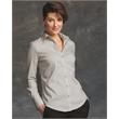 Calvin Klein Women's Cotton Stretch Shirt - Ladies' cotton stretch shirt.
