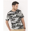 Code Five Adult Camo Tee - Camouflage short sleeve t-shirt. Blank product.