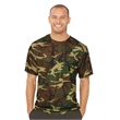 Code Five Adult Performance Camo Tee - Performance Camouflage Short Sleeve T-Shirt
