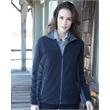 Colorado Clothing Women's Pike's Peak Microfleece Jacket - Women's color blocked full-zip microfleece jacket. Blank product.