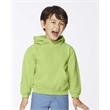Comfort Colors Garment-Dyed Youth Hooded Sweatshirt - Soft washed, garment dyed youth hooded sweatshirt with double-needle stitching and set-in sleeves.