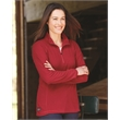 DRI DUCK Women's Fusion Quarter-Zip Nano-Fleece Pullover - Women's 1/4 zip nano-fleece pullover. Blank product.
