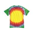 Dyenomite Youth Bullseye T-Shirt - Youth tie-dyed bullseye t-shirt. Blank.