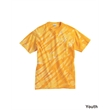 Dyenomite Youth One Color Tiger Stripe T-Shirt - Youth tie-dyed tiger stripe t-shirt. Blank.