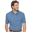 FeatherLite Cotton Pique Sport Shirt - Adult sport shirt with fashion collar. Blank.