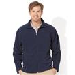 FeatherLite Microfleece Full-Zip Jacket - Microfleece jacket. Blank product.