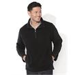 FeatherLite Unisex Microfleece Quarter-Zip Pullover - Microfleece 1/4-zip jacket. Blank product.