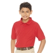 FeatherLite Youth Silky Smooth Pique Sport Shirt - Youth sport shirt. Blank.