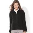 FeatherLite Women's Microfleece Full-Zip Jacket - Women's microfleece jacket. Blank product.