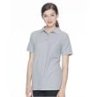 FeatherLite Women's Silky Smooth Pique Sport Shirt - Ladies pique sport 5.0 oz shirt. Blank product.
