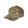 Flexfit Twill Cap - Fitted, 6-panel, mid-profile structured twill cap. Blank product.