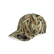 Flexfit Mossy Oak® Camo Cap - Camouflage cap made of 97% cotton / 3% spandex. Blank product.