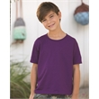 Fruit of the Loom HD Cotton Youth Short Sleeve T-Shirt - Youth 5.0 oz., pre-shrunk 100% cotton t-shirt. Blank product.