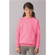 Gildan Heavy Blend™ Youth Sweatshirt - Youth 8.0 oz., 50% cotton / 50% polyester crewneck sweatshirt. Blank product.