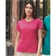 Gildan Ultra Cotton® Women's T-Shirt - Women's 6.1 oz 100% cotton, pre-shrunk classic fit t-shirt. Blank product.